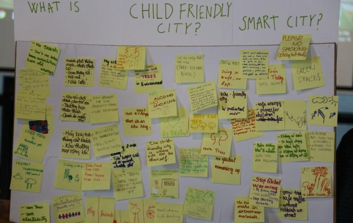 Ideoita lapsiystävällisen kaupungin kehittämiseksi (Kuva: Arkki)