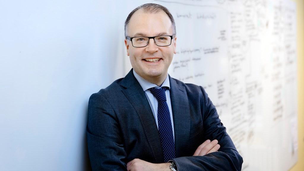 Palveluosaston osastopäällikkö Olli-Pekka Rantala (Kuva: LVM / Tomi Prkkonen)
