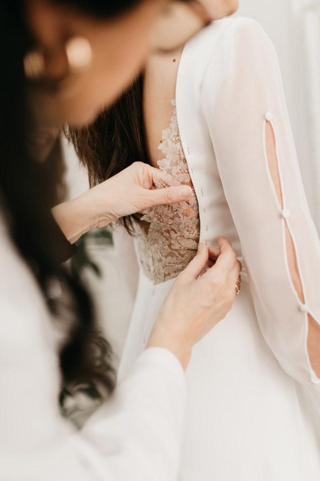 Vestido de novia de la firma Impúribus