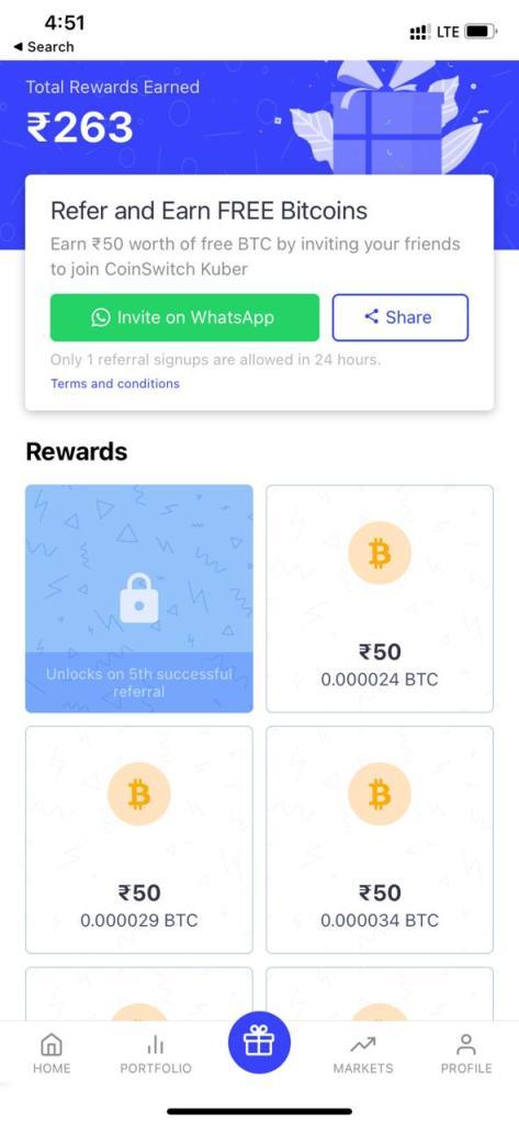 best cryptocurrency app india