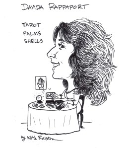 Caricature by Katie Ralston