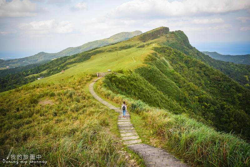 【 新北景點|貢寮 】桃源谷步道 (內寮線) 宛如仙境的壯麗大草原