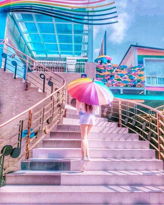 彩虹山舍 台中景點
