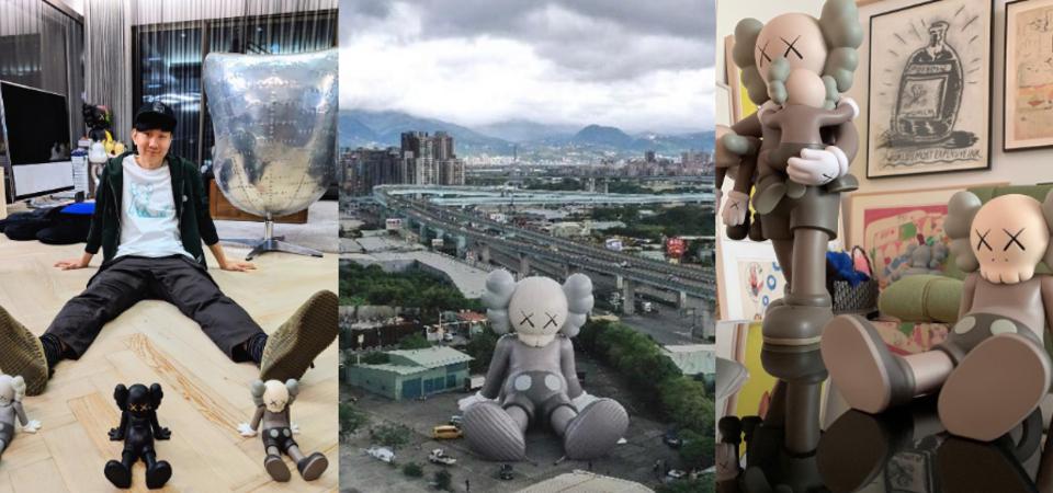 【 台北活動 】快閃中正紀念堂!36米高巨無霸《KAWS:HOLIDAY》公仔降臨台北