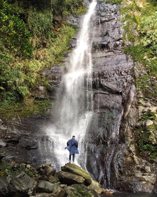 2021過年旅遊景點,春節旅遊宜蘭走春景點推薦五峰旗瀑布