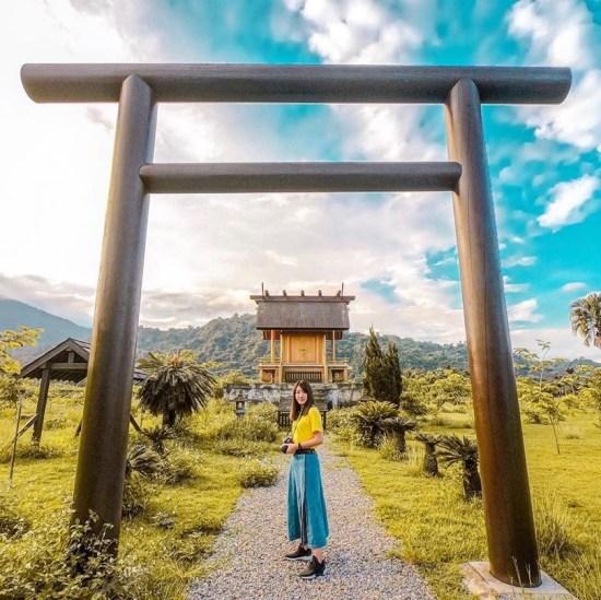 台東一日遊二日遊旅遊景點推薦 鹿野神社