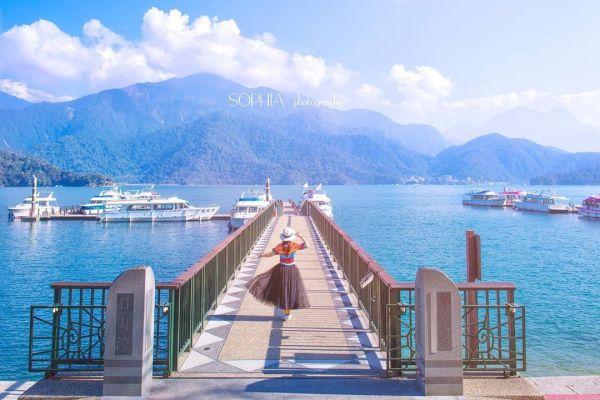 日月潭朝霧碼頭擁有台灣前10大美景之稱