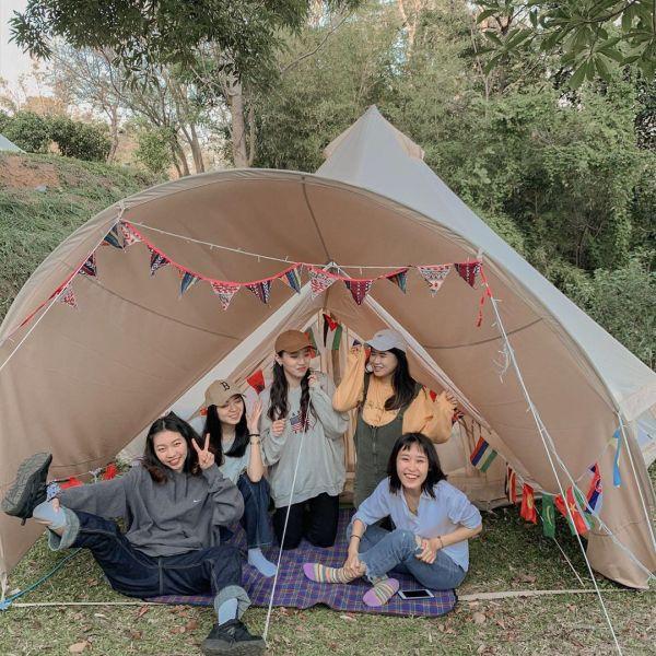 五星級露營 懶人露營 柚香露露