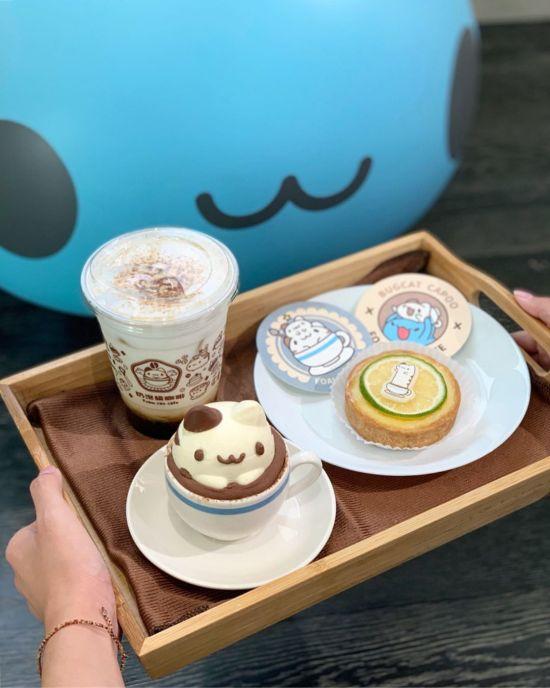 奶泡貓咖啡餐點|台中最新景點,,台中咖啡廳推薦,台中景點推薦,台中美食推薦
