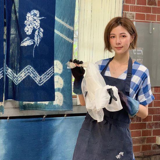 三峽藍染生活工坊 三峽手作 藍染 DIY 工作坊