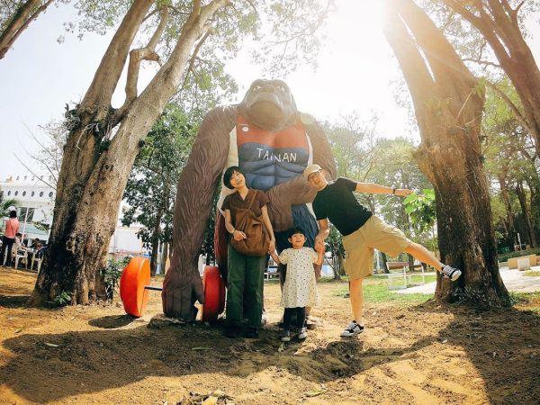 台南體育場公園|台南景點|台南運動公園|侏儸紀森林|哈赫拿爾森林