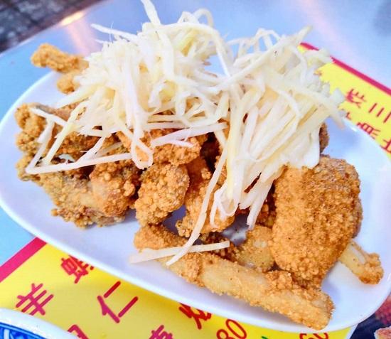 順路來紅燒肉羹-炸三鮮 寧夏夜市美食,台北夜市,夜市美食,台北美食,夜市小吃