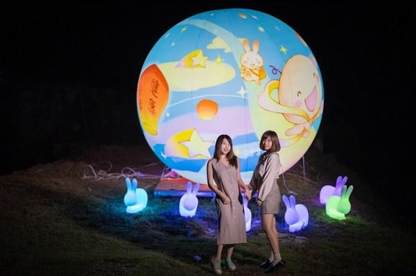 平溪菁桐「新北點燈 向世界報平安」