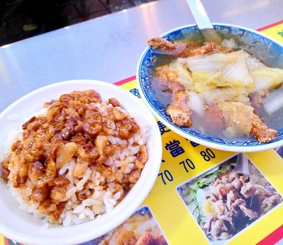 順路來紅燒肉羹-滷肉飯 寧夏夜市美食,台北夜市,夜市美食,台北美食,夜市小吃