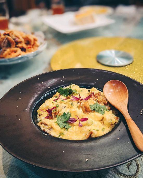 高雄古家海鮮餐廳-海膽滑蛋|台菜餐廳推薦,高雄聚餐推薦,家庭聚餐推薦,高雄美食,全台美食