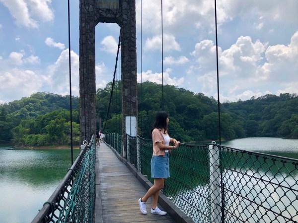 寶湖吊橋|寶山水庫|新竹吊橋景點