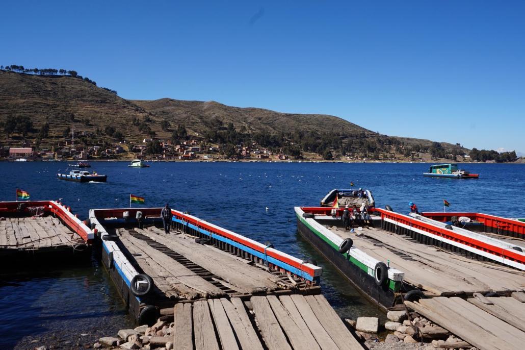 Titicacasee Fähre
