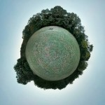 Kreuzeichenwiese Tiny Planet