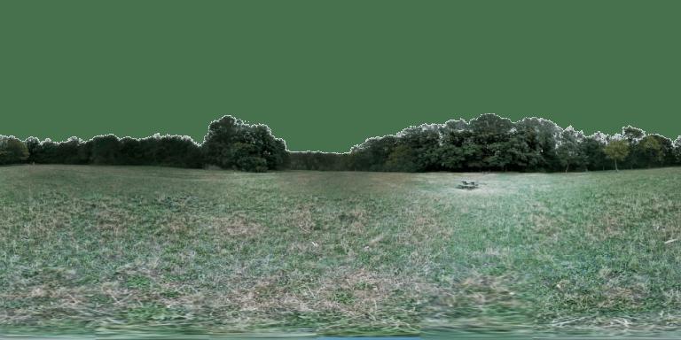 Kreuzeichenwiese 360° Panorama