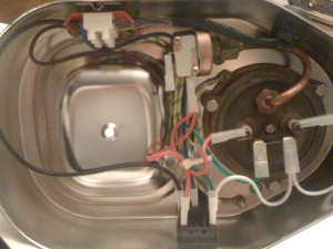 The wiring after the mod