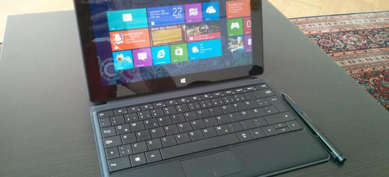 Microsofts neues Surface Pro-Tablet im Test