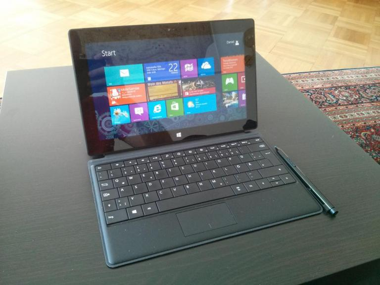 Surface Pro und Type Cover