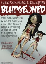Bludgeoned spoof movie poster 3d Illustration- modelled and rendered in StrataStudio3D