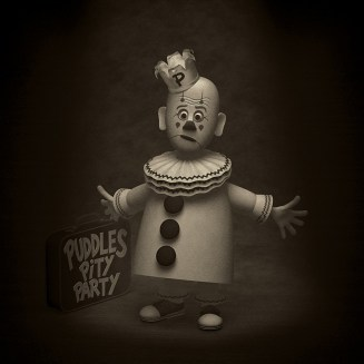 Puddles Pity Party - 3d Illustration- modelled and rendered in StrataStudio3D