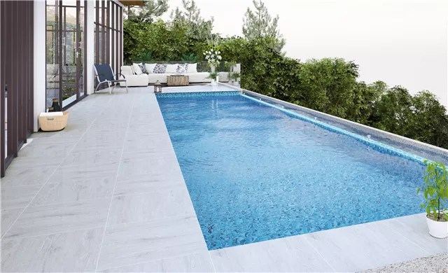 20mm wood design floor tiles for