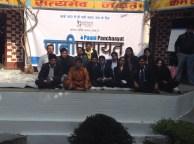 IMS Students with Dr. Kiran Bedi to Support Paani Panchayat