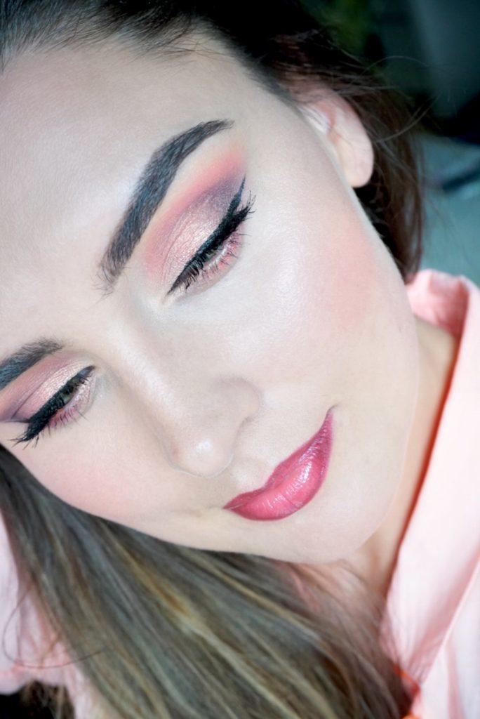 huda beauty makeup look