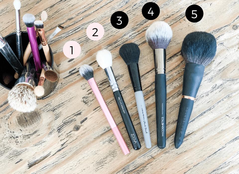 Makeup børster guide