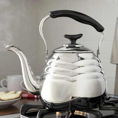 3 Qt Stainless Steel Portobello Tea Kettle By Ginnys From