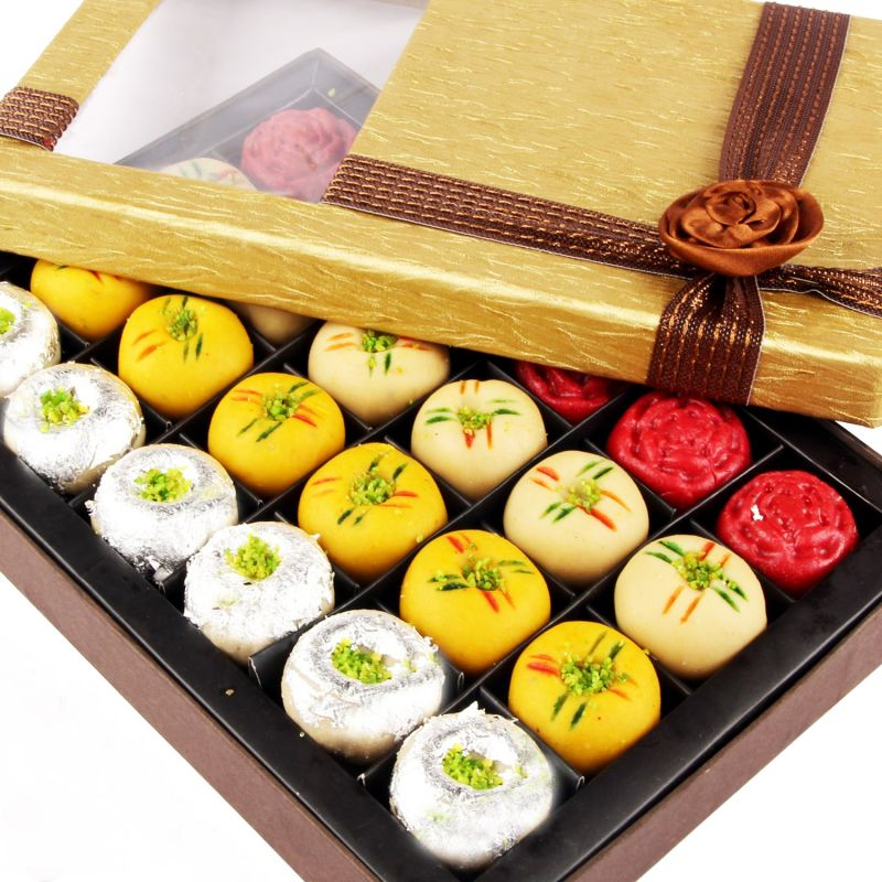 Diwali gift assorted box of sweets