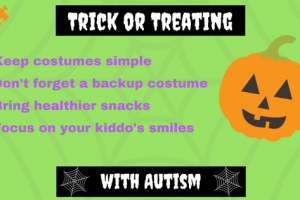 trick or treating with autism