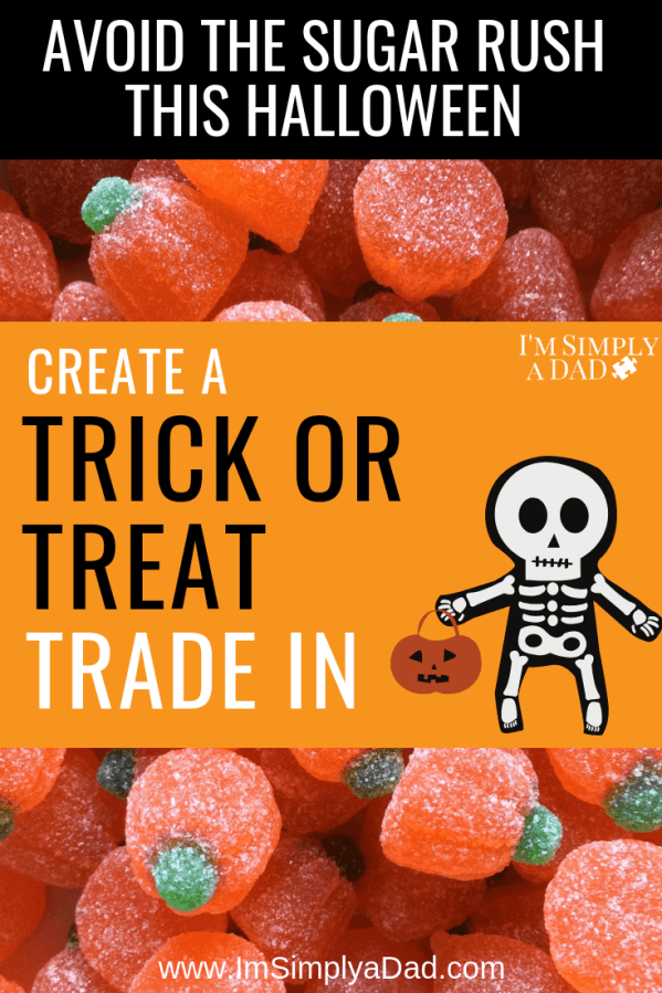 Trick of treat trade in: Want to keep your kids healthy this Halloween? Create a Trick or Treat Trade In. Our kids turn in their candy for healthier treats, new toys, or games. Some parents use added stories or characters like Switch Witch or the Halloween Goblin, but it's all the same idea. Take away the unhealthy, sugar-filled candy and replace with a fun gift instead.