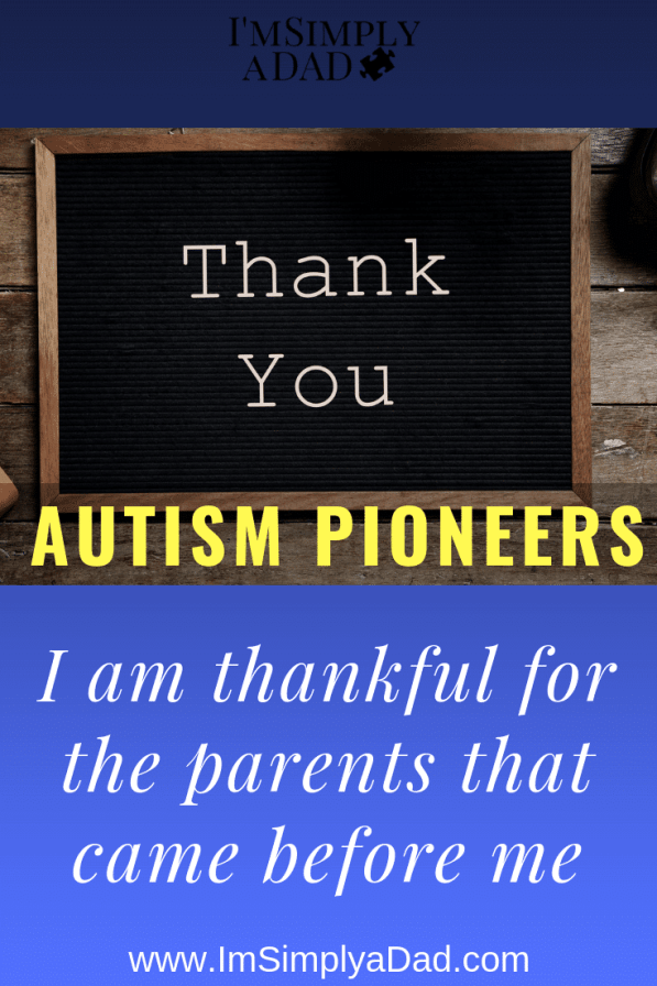 Thank you Autism Parents Who Showed Us The Way: I am thankful for all the parents that came before us. The ones who paved the way towards treating our son's #autism and have helped guide us along the way.""