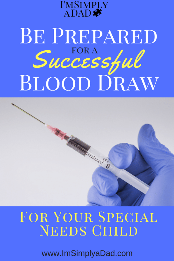 Tips for Successful Blood Draw: Our not so secret formula to ensure a good blood draw for our son with autism.