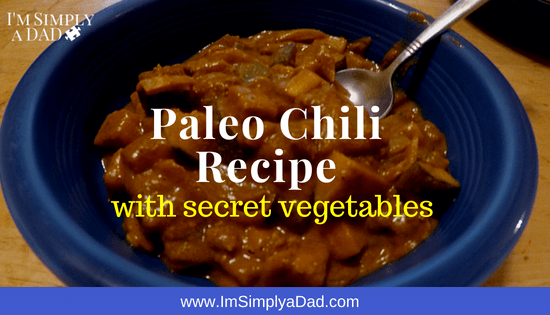 Paleo Chili Recipe: Prepare this easy beanless chili in your crock pot or slow cooker with beef or turkey. With the right chili seasoning, you can sneak extra vegetables like butternut squash, zuchinni, and even broccoli into this simple dish. Your kids won't notice the extra veggies and they won't even know it's tomato free.