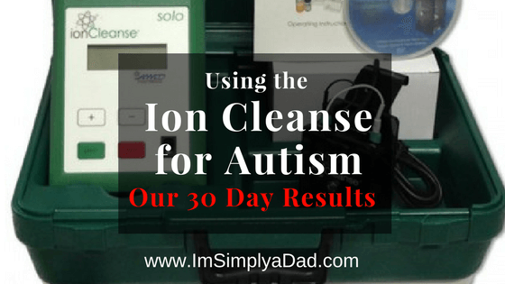 Ion Cleanse for Autism: Is it Helping After 30 Days? - I'm
