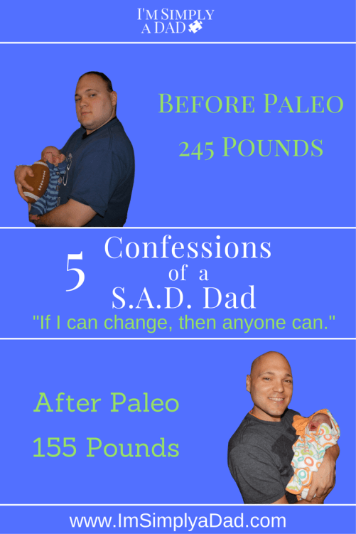 Paleo Before and After: To prove ANYONE is able to improve their health, I admit to 5 shameful eating habits before paleo. If I can change, so can you.