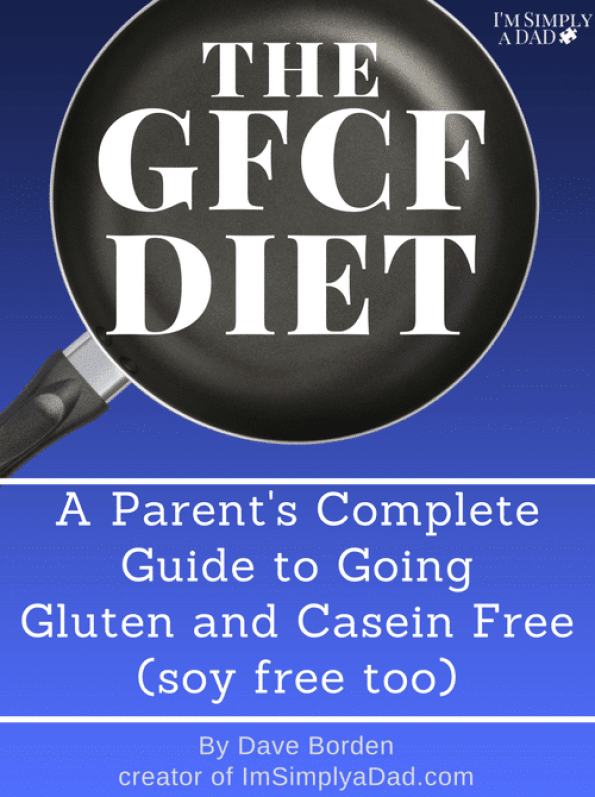 A guide to the GFCF Diet for kids with autism, ADD/ADHD, & other special needs. Find a list of foods that you can eat and foods to avoid on a gluten free dairy free diet. Plus, learn why going GFCF is important to improving the health and helping our kids function better. Tons of great information, success stories, sample meal plan, tips & ideas for families from a Dad who remembers how hard it was to get started. #glutenfree #dairyfree #autism #gfcfdiet