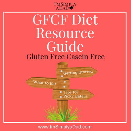 GFCF Diet Resource Guide: Links and Info to help you with the Gluten Free Casein Free Diet