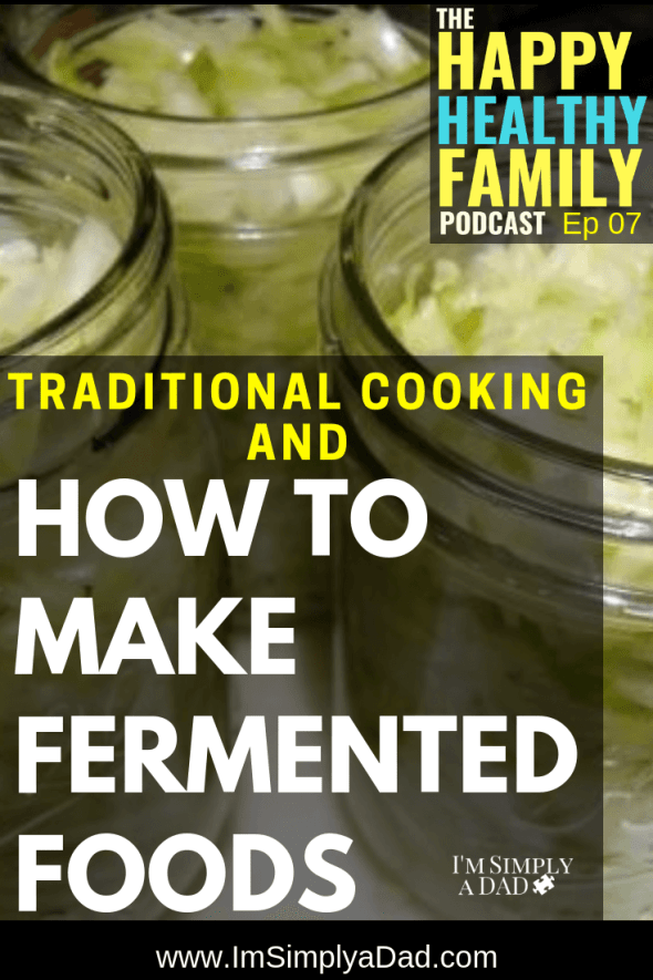 How to make fermented foods and Traditional Cooking. I chat with Wardee Harmon of Traditional Cooking School, and we discuss what exactly traditional cooking means, soaking and sprouting, and why we should even worry taking extra time to prepare food as our grandparents did. We also talk about making fermented foods like kombucha, kefir, and sauerkraut, and fermented foods you can buy from the store.