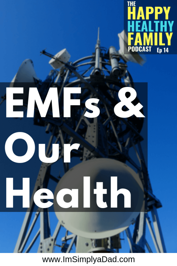 EMFs may be impacting our health. Cell phones, WiFi, Bluetooth, Smart Homes, Smart Cars...etc. Electromagnetic fields surround us every minute of every day, but what are they doing to our health?  Find out what exactly EMFs are, what they're risks are, and simple steps you can take at home to reduce your exposure to electromagnetic fields. #EMFs #healthpodcast