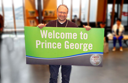 welcome to prince george IMSS