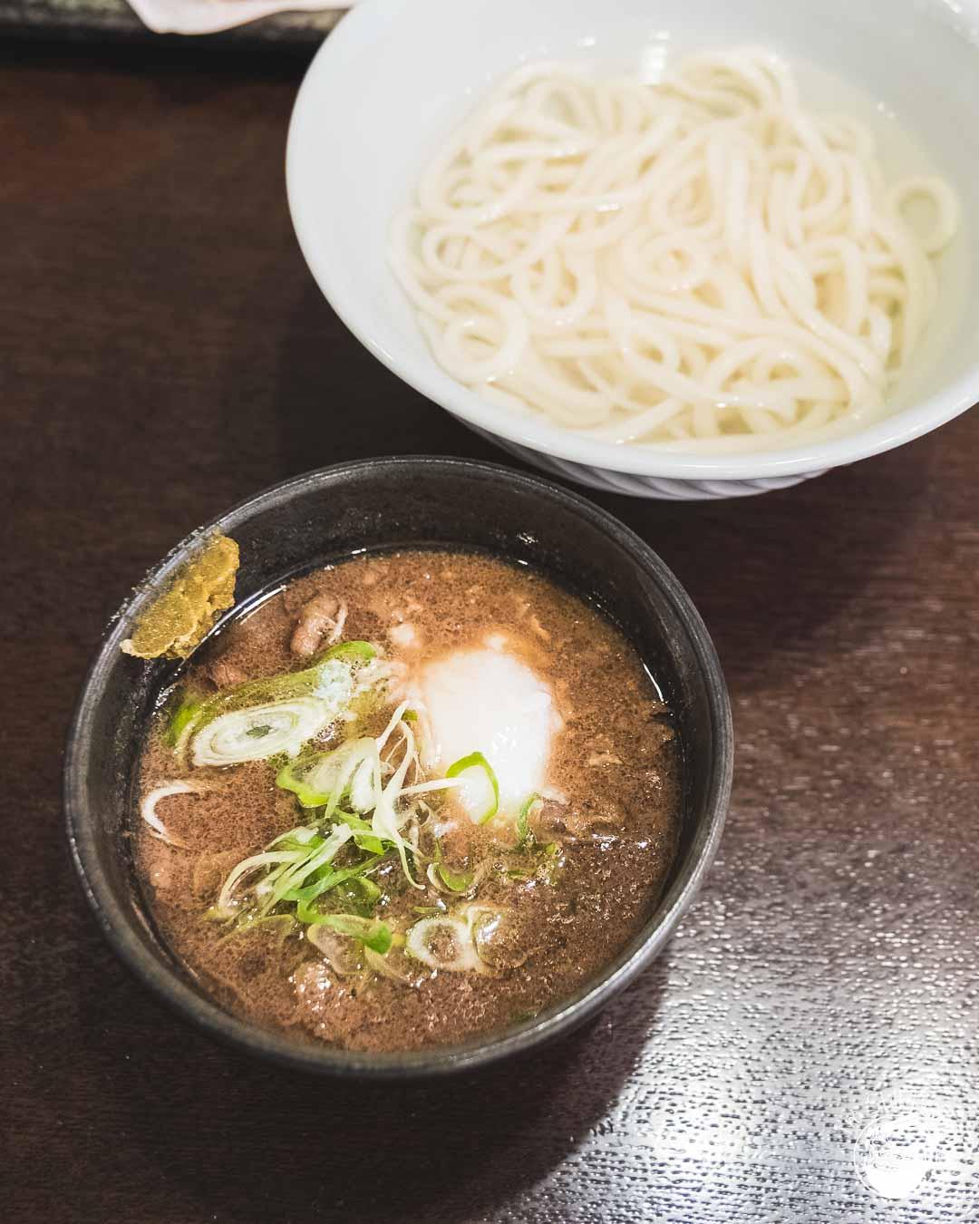 Udon Noodles in Okayama