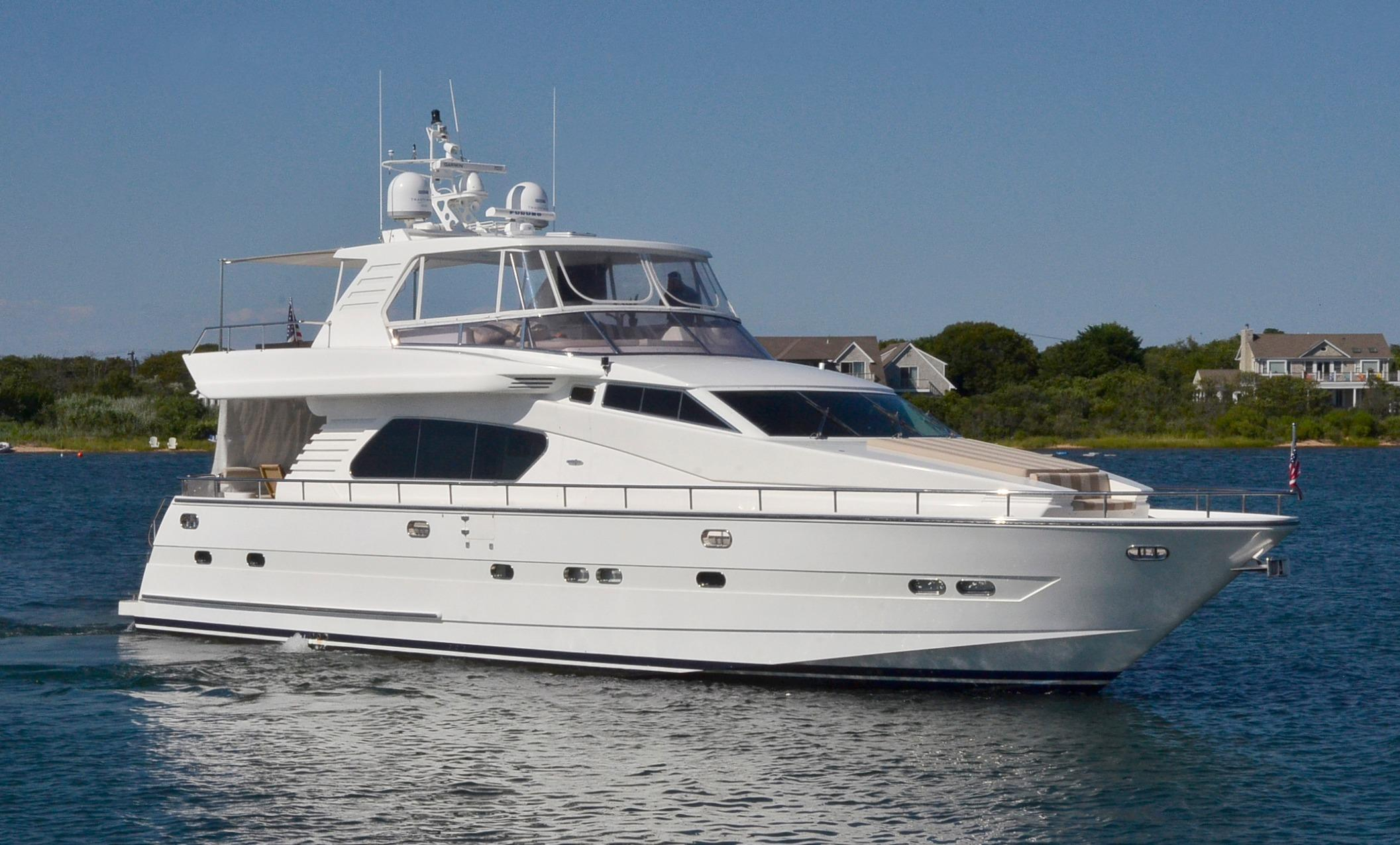 70 Horizon 1999 Ceviche For Sale In Montauk New York US Denison Yacht Sales