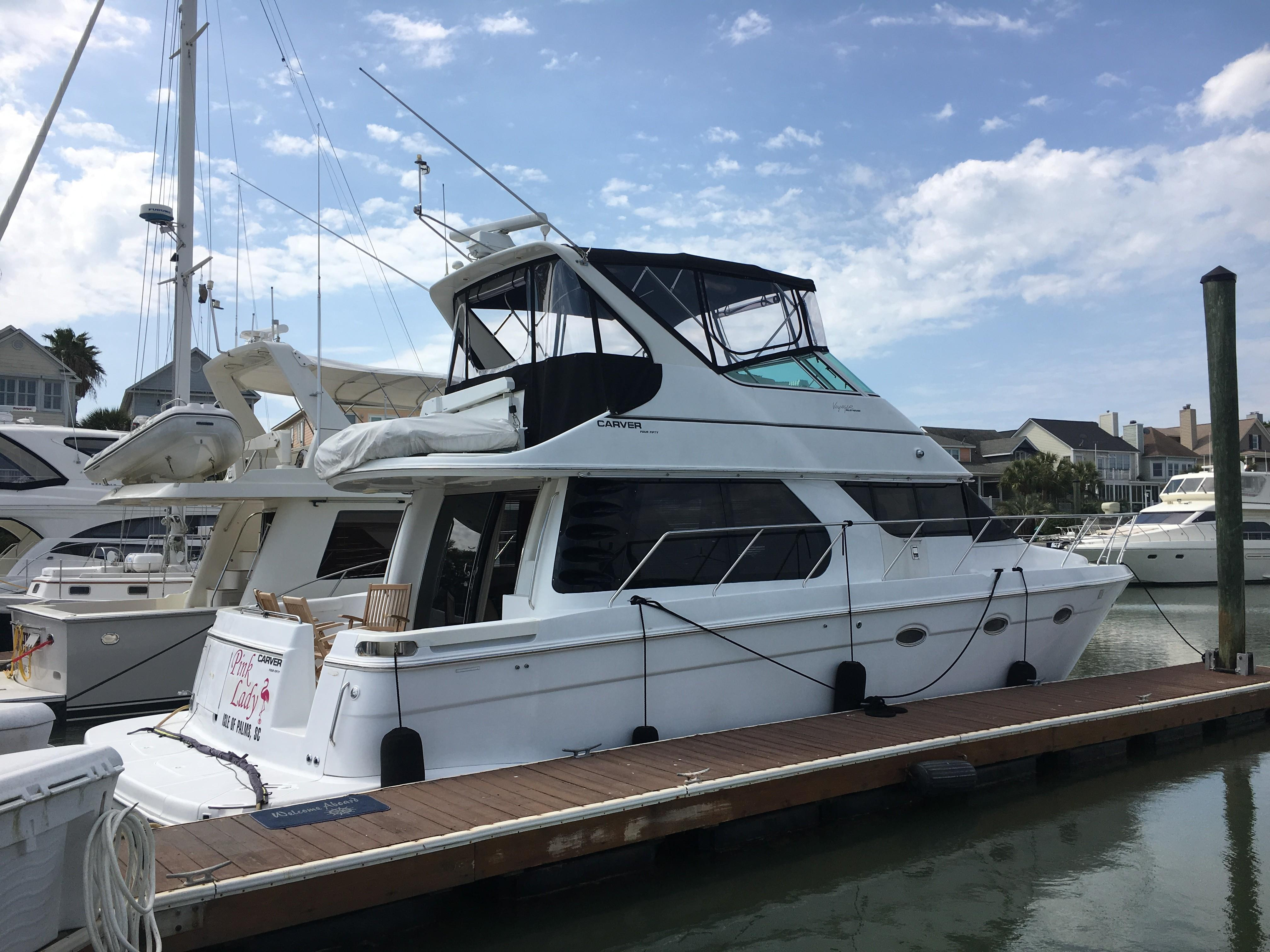2000 CARVER YACHTS 450 Voyager For Sale St Barts Yachts