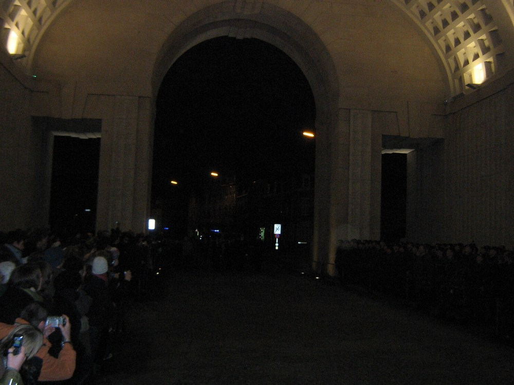 The Menin Gate Memorial (6/6)